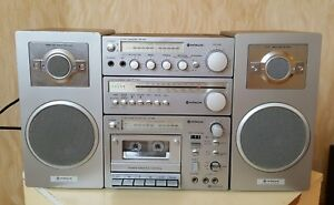 HITACHI M2 MK II Lo-D  Stereo Music Compact Component System 1980y BOOMBOX