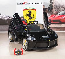 12V La Ferrari Ride On Car Kids Electric Power Wheels w/ RC Remote Control Black