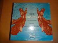bach st john's passion vox pl 6553 2 lp set