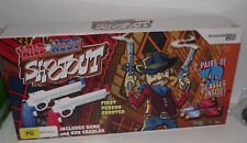 Boxed Wild West Shootout Wii PAL *Sealed* With 2 Hand Cannons
