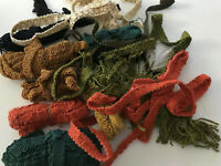 Vintage Trim passementerie Sewing Appliqué Doll Silk Cotton Autumn B16