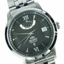 Orient EJ02002B SEJ02002B Automation Black Dial Stainless Steel Analog Men Watch