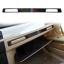 Carbon Fiber Car Sticker Copilot Water Cup Holder Panel Trim For BMW E90 E92 E93