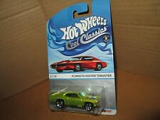 plymouth duster thruster Spectrafrost 21/30 2013 Hot Wheels Cool Classics
