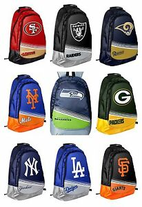 """NFL / MLB /NBA Team Core Backpack 18""""x6""""x13"""""""