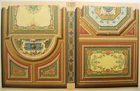 Sala De Concierto Calle Clary Litografía 19e Daly Arquitectura Haussmann