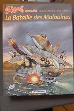 BD biggles raconte n°3 la bataille des malouines réédition 2003 TBE aviation