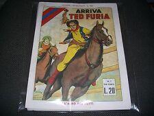 SERIE COMPLETA TED FURIA 1/12 1949 - ANASTATICA NUOVI