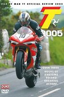 Isle of Man TT - Official Review 2005 (New DVD) Motorcycle Road Racing Bike