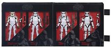 """Star Wars Black Series 6"""" Imperial forces STORMTROOPER Set Amazon Exclusive NEW"""