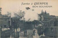QUIMPER – Nantes-Quimper Train J'Arrive a Quimper Bon Souvenir – France