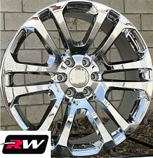 """20 x9"""" inch Chevy Tahoe CK158 Factory Style Wheels Chrome Rims 6x139.7 +24"""