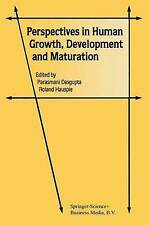 NEW Perspectives in Human Growth, Development and Maturation