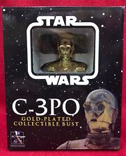 Star Wars Gentle Giant 2004 C-3PO Gold Plated Ltd Ed #150/8000 New In Box - Mint