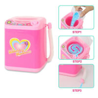Washing Machine Simulation Kids Toy Home Appliance Role Play Pretend Games Pink
