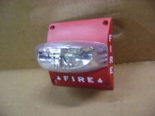 System Sensor Fire Life Alarm Red Flash Strobe Wall Mount Ss2475ada