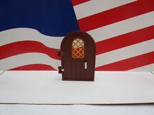 Lego HARRY POTTER (1) REDDISH BROWN DOOR/PEARL GOLD LATTICE HAGRID's HUT 4738