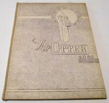 1951 Otter Creek High School Yearbook Terre Haute, In.