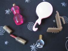 Barbie Princess Moxie Liv Doll Salon Vanity Make-up Mini Bottle Lipstick Cell