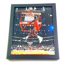 Michael Jordan Authentic 8x10 Signed Autographed Slam Dunk Photo COA Bulls