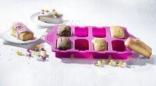 Silikonform Backform Minikuchen Gebäckform Kuchenform Eisform mit 10 Stäbchen