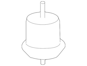 Genuine GM Front Mount 25840452
