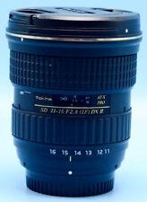 Tokina AT-X PRO DX-II 11-16mm f/2.8 NAF Lens for Nikon Exc++++++WCaps