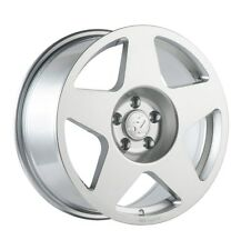 17X9 Fifteen52 Tarmac 5x100mm +45 Silver Wheels Aggressive Fits Wrx 2002-2014