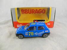 Bburago código 4160 Renault Clio 16V en azul no 70 Whirlpool