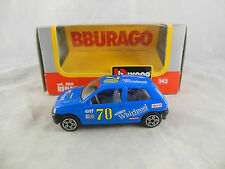 BBurago Code 4160 Renault Clio 16V in Blue No 70 Whirlpool
