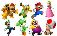 """20 water slide nail art transfer decals mario brothers mix decals """"Trending"""
