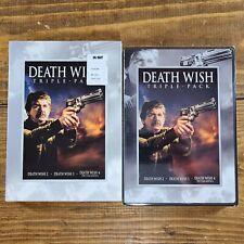 Death Wish 2 3 4 ~  Triple Feature ( DVD, 2007, 3 Discs ) Charles Bronson  *OOP*