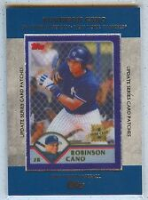 2013 Topps Robinson Cano Manufactured Patch TRCP-7 Yankees