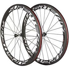 DT350 Hub SUPERTEAM 50mm Clincher Carbon Wheels Matte 3k Race Bike Wheelset T700