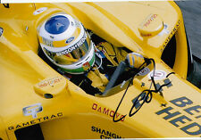 Giancarlo Fisichella Hand Signed B&H Jordan Ford Photo 12x8 2.