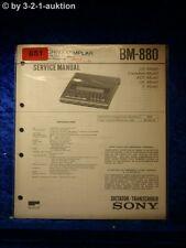 Sony Service Manual BM 880 (#0851)