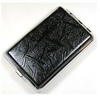 High quality Pocket Leather Cigarette Tobacco Case Box Holder 12pcs YH04-06