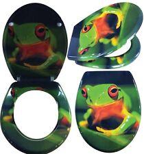 WC Sitz mit Absenkautomatik Green Frogg Toilettendeckel Toilettensitz Soft close