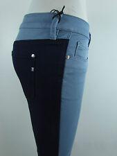 New GENETIC DENIM THE HYDE Moto SKINNY Woman Jeans 25 SUPER ROYAL DARK BLUE