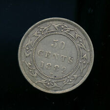 1882 Newfoundland 50 Cents VF30 or better  CQ169