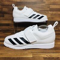 Adidas Powerlift 4 (Men's Size 11.5) Athletic Weightlifting Sneaker White Shoe