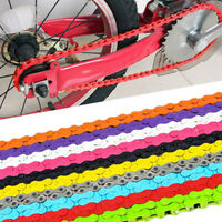 "CHAIN 1/2"" x 1/8"" BMX Colour Bicycle Fixie Single Speed Track Fixed Bike"