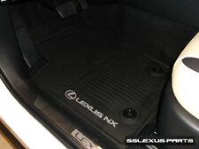 Lexus NX200T NX300 (2015-2018) OEM Genuine 4pc ALL WEATHER FLOOR MATS (Black)