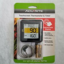 New listing Acurite Touchscreen Thermometer and Timer for Cooking Digital Display