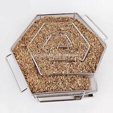 Cold Smoke Generator Haxagon-Shape Smoke Box BBQ Hot&Cold Smoke Gererator-New