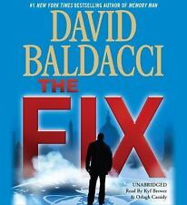 THE FIX unabridged audio book on CD by DAVID BALDACCI - Brand New! 10 CDs 12 Hrs