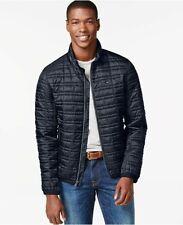 Tommy Hilfiger Mens XL Platinum Insulator Quilted Jacket Navy Blazer