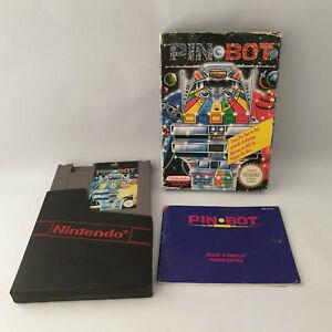 Nintendo NES - Pin-Bot Pinbot Pal B - Complete in Box CIB