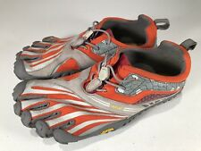Unisex Vibram FIVE FINGERS Gray Athletic Shoes Size EU 38 Size