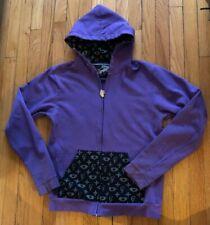 Clandestine Industries Purple Marauder Hoodie Size M